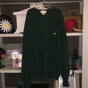 Vintage masters Augusta National sweater Xl